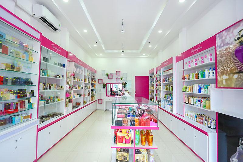 cửa hàng thế giới mỹ phẩm